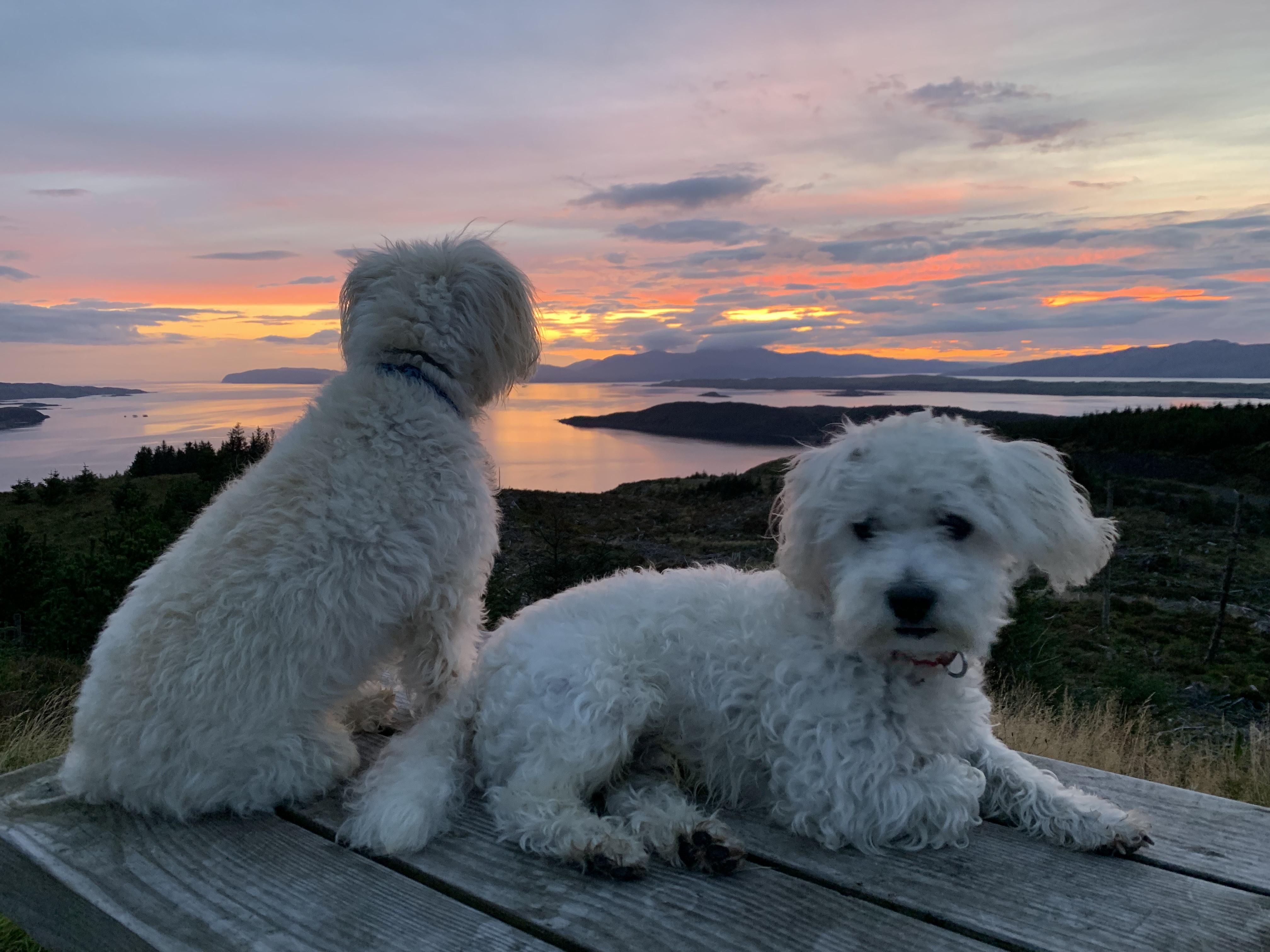 Sunset over Loch Etive